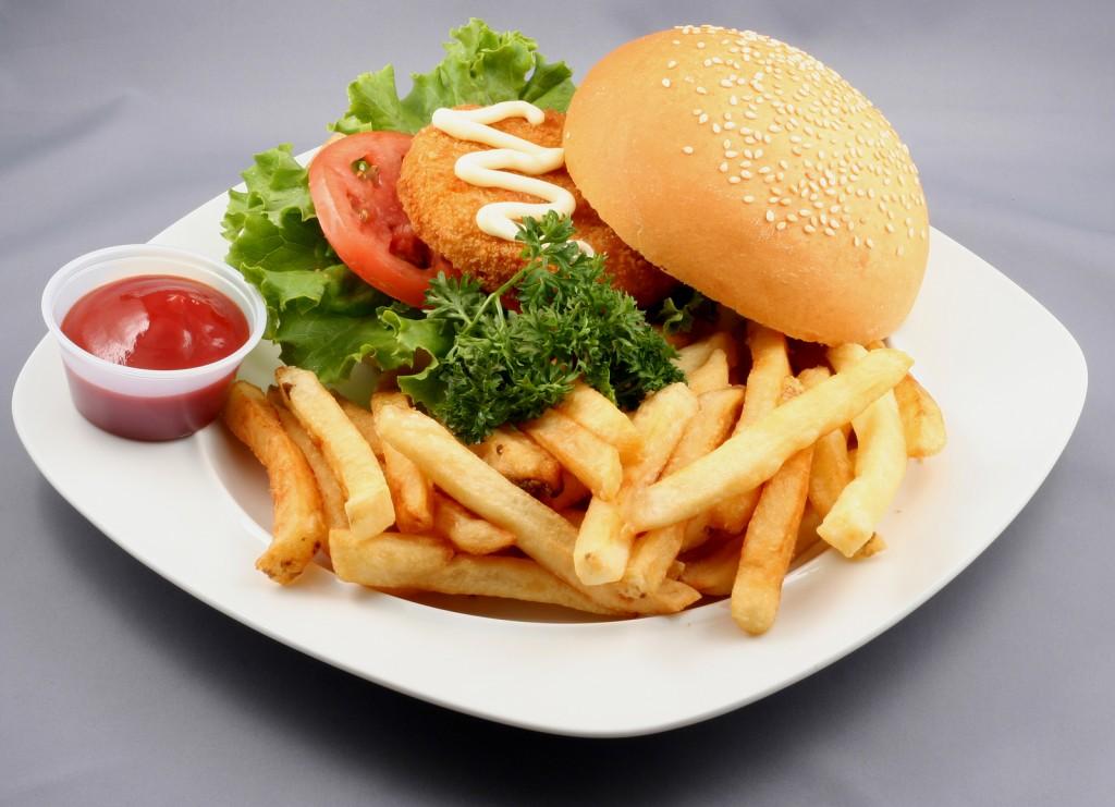 bigstockphoto_Burger_Combo_2545519